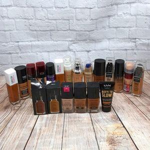 Foundation bundle Makeup artist lot
